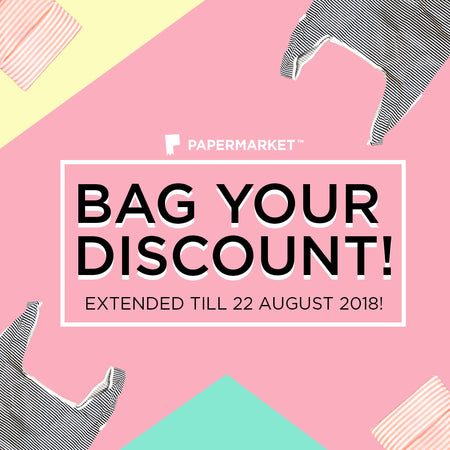 Bag Your Discount Now!
