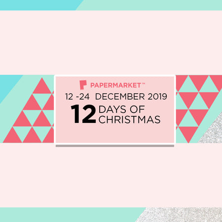 PaperMarket's 12 Days of Christmas Sale Begins!
