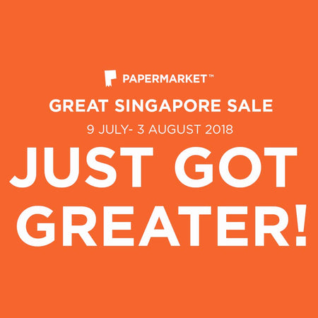 Great Singapore Sale Just Got Better!