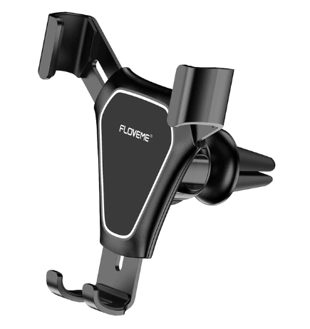 FLOVEME Gravity Car Phone Holder Air Vent Mount Mobile Phone Stand Holder For Car Cell Phone Holder Support Smartphone Voiture 10 days delivery