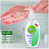200ml Alcohol Hand Sanitizer Soap Travel Disposable Waterless Hand Gel Soap Disinfection Gel Antibacterial for Children Family