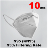 10 pcs KN95 Mask 5 Layer Flu Anti Infection N95 Protective Masks Particulate Respirator PM2.5 Protective Safety FFP3 Fast Delivery