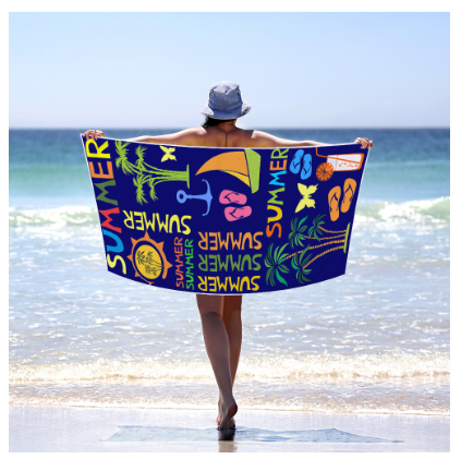 Hawaiian Style Summer Beach Towel Polyester&Microfiber Fast Quick Dry Colorful Travel Swimming Backpacking Gear Blanket