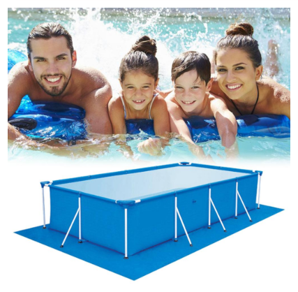Large Size Swimming Pool Square Ground Cloth Lip Cover Dustproof Floor Cloth Mat Cover For Outdoor Villa Garden Pool