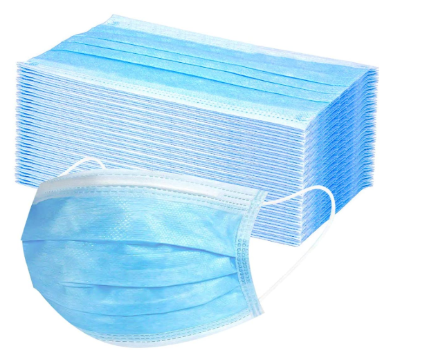 50 pcs Anti-Virus Disposable Air Filter Health Face Nose clip mask 3 Layers SHIP FROM USA, CA
