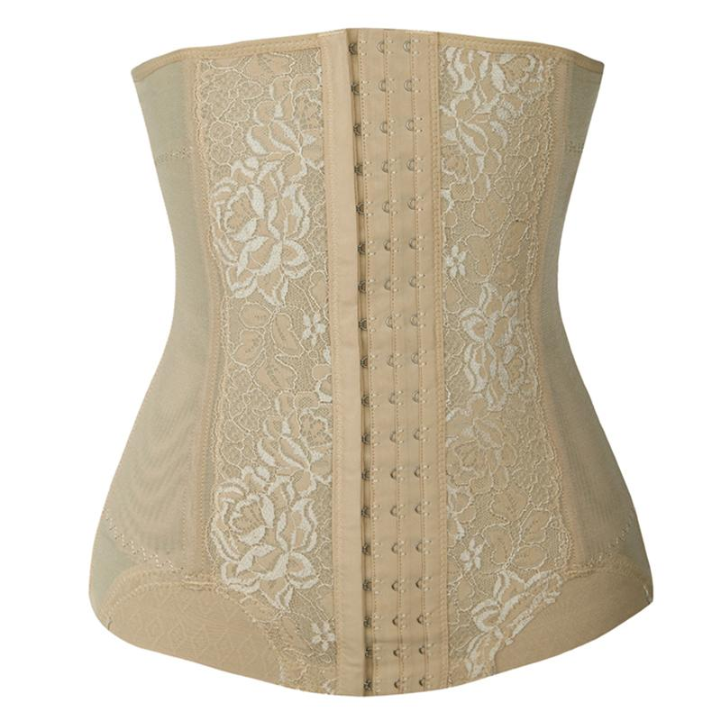 Low Back Strapless Shapewear Waist Trainer Body Shaper Tummy Flattener Corset for Women
