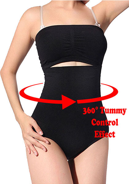 Tummy Control Flattening Panties Body Shaper Underwear Slimming Panties 360 Shapewear
