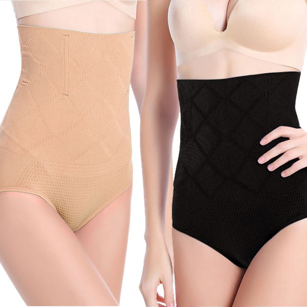 b505302540 2-pack High Waisted Tummy Control Body Shaper Panty – BigEasyStores