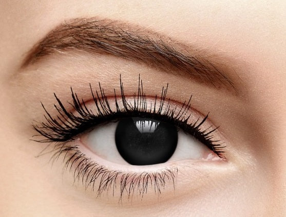 Scary Black Witch Halloween Contact Lense