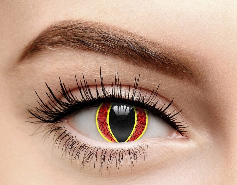 Scary Sauron's Eye Halloween Contact Lense