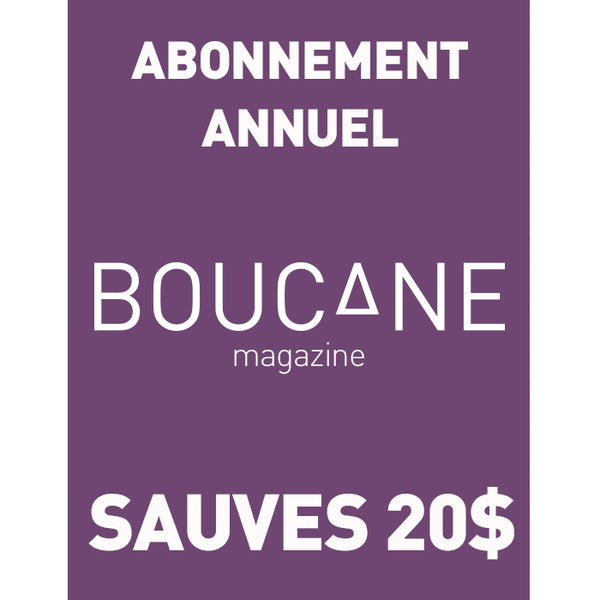 Abonnement Annuel! Yearly sub!