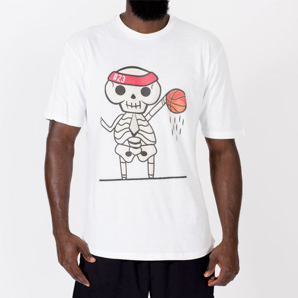 💀  Bone Collector Lil Ballers Tee - White 💀