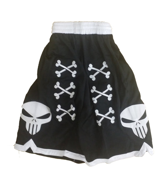 💀 Youth Bone Collector Signature Embroidered Shorts 💀