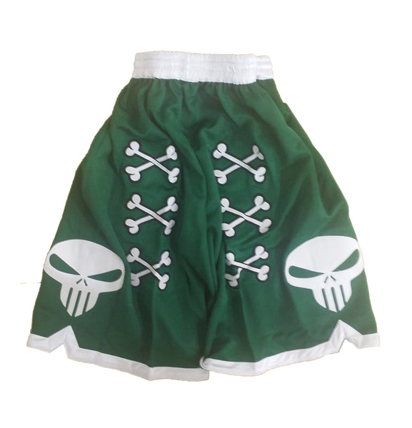 💀 Bone Collector Signature Shorts Dark Green 💀