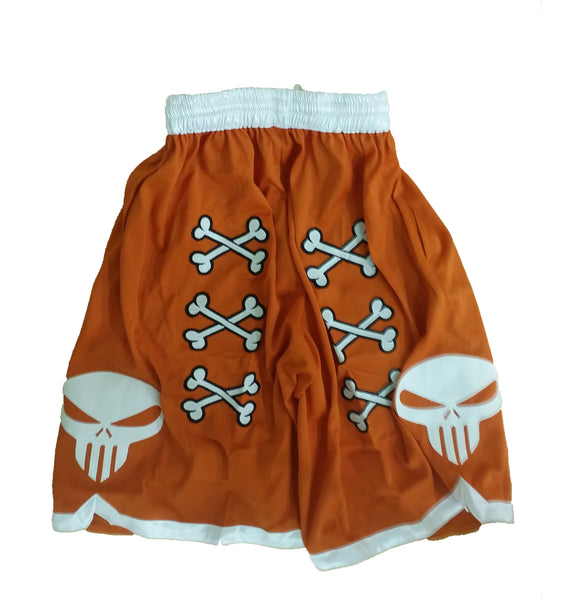 💀 Bone Collector Signature Shorts Orange 💀