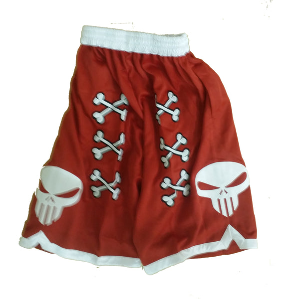💀 Bone Collector Signature Shorts Red 💀