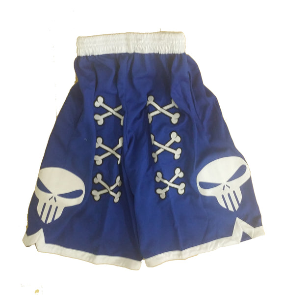 💀 Bone Collector Signature Shorts Blue 💀