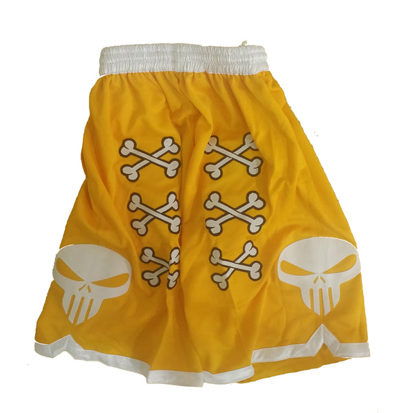 💀 Bone Collector Signature Shorts Yellow 💀