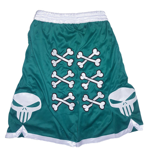 💀 Bone Collector Signature Shorts Teal 💀