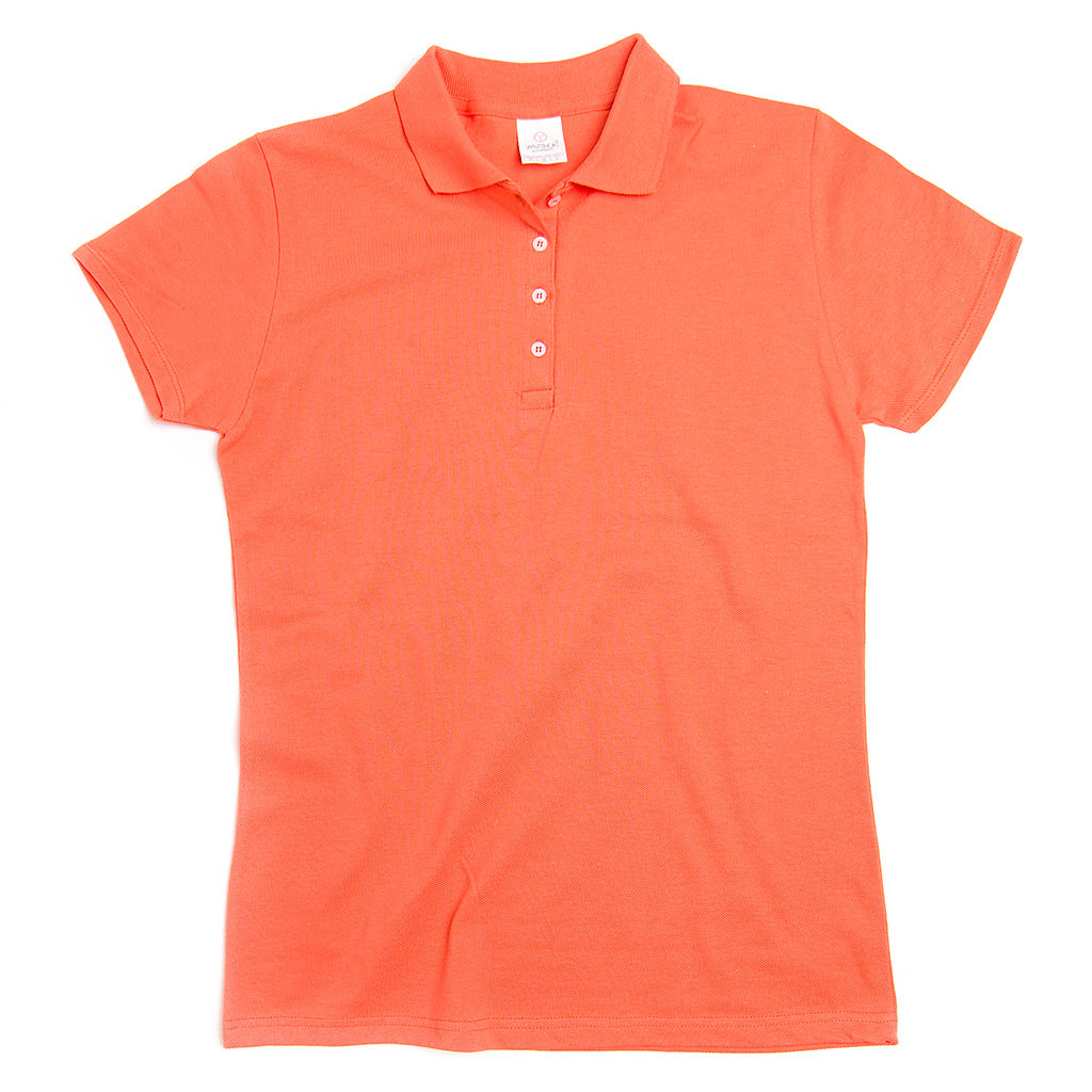 D0500 100% Cotton Piqué Ladies Golf Shirt