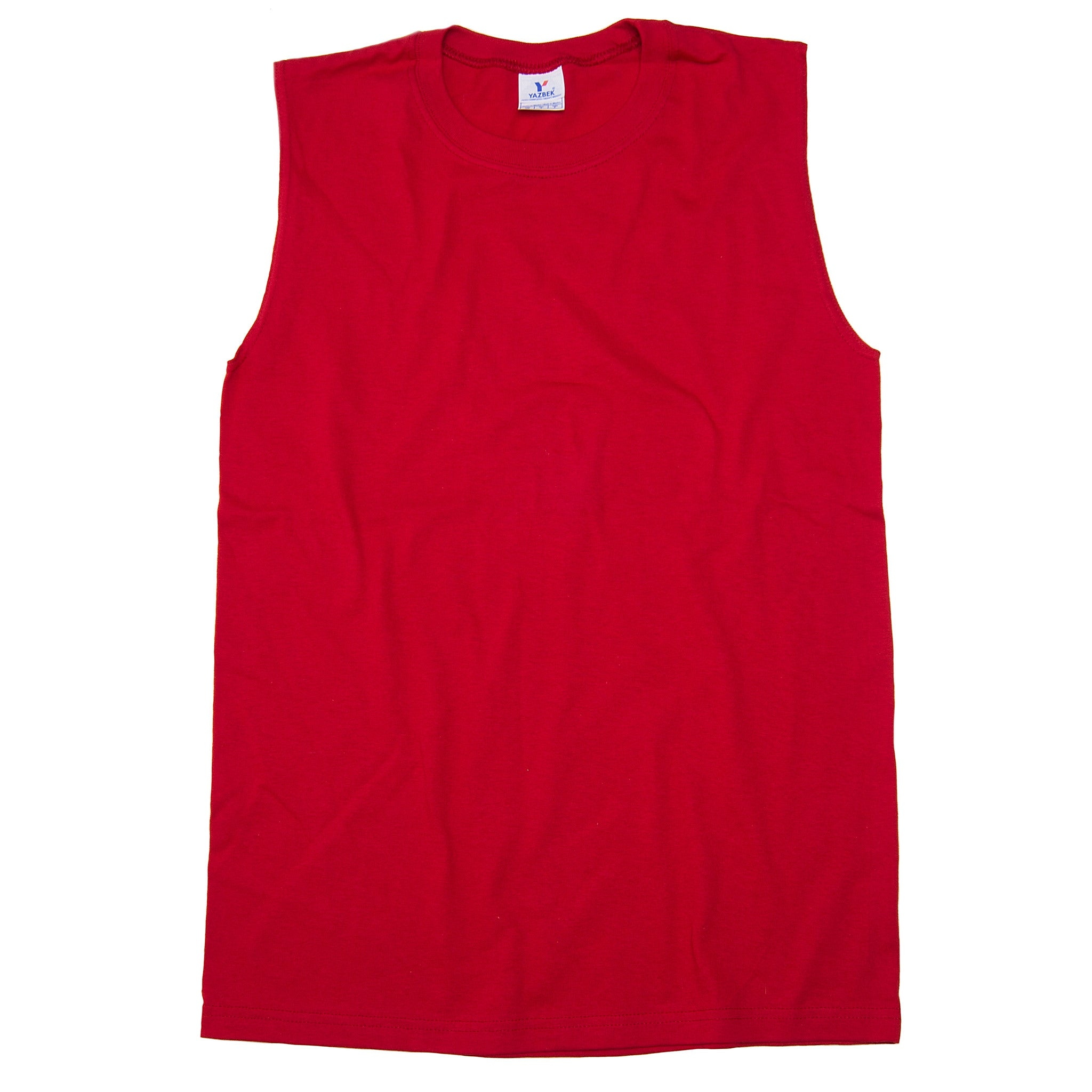 7fe5e5f09630 C0310 100% Cotton Heavy Weight Unisex Crew Neck Sleeveless Shirt