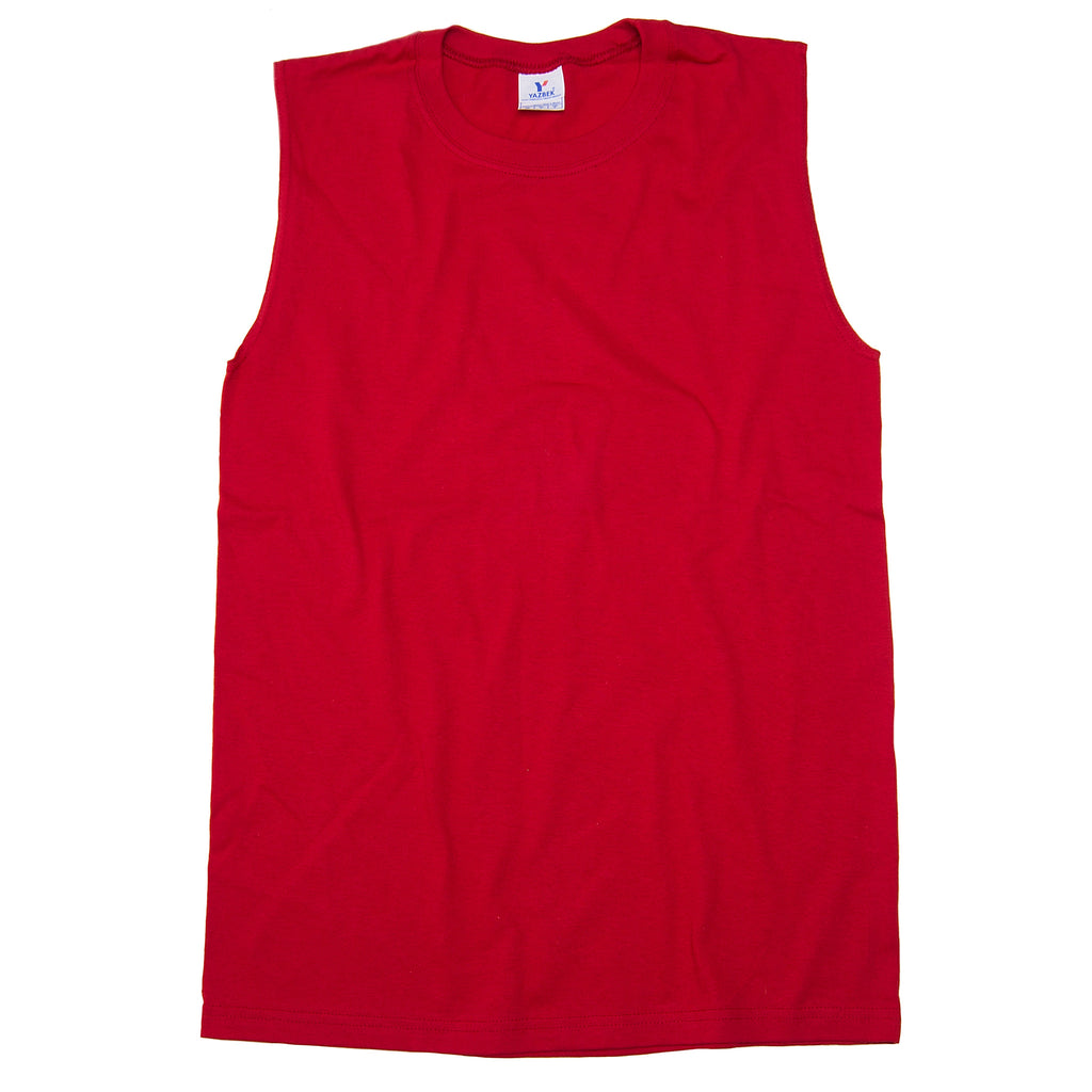 C0310 100% Cotton Heavy Weight Unisex Crew Neck Sleeveless Shirt