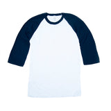 M&O 5540 Adult Raglan Baseball T-Shirt 3/4 Sleeve