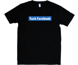 Fuck Facebook t-shirt