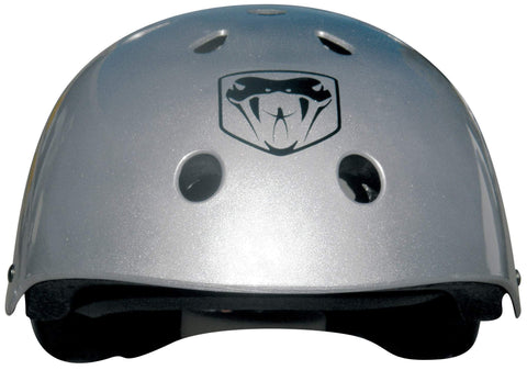 Adenalin Skate 44117      ~ L & S SKATEBOARD HELMET SILVER New zealand nz vaughan
