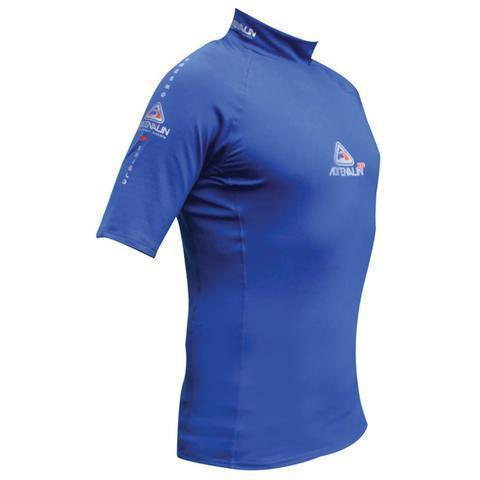 Adrenalin MULTI-ITEM 421617116  ~ 2P THERMAL RASHTOP S/SLEEVE BLUE New zealand nz vaughan