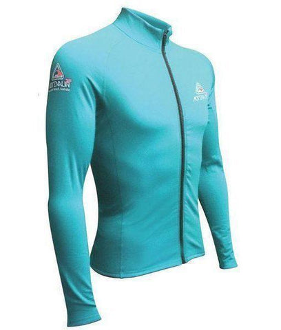 Adrenalin MULTI-ITEM 421617436  ~ 2P THERMAL ZIPTOP L/SLEEVE AQUA New zealand nz vaughan