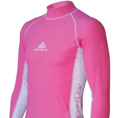 Adrenalin MULTI-ITEM 4221143    ~ RASHVEST JNR LONG SLEEVE PINK New zealand nz vaughan