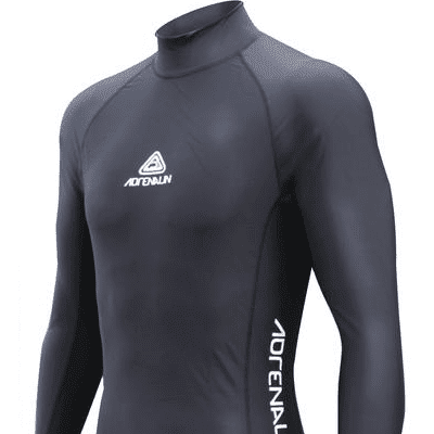 Adrenalin MULTI-ITEM 4221162    ~ RASHVEST JNR LONG SLEEVE BLK New zealand nz vaughan