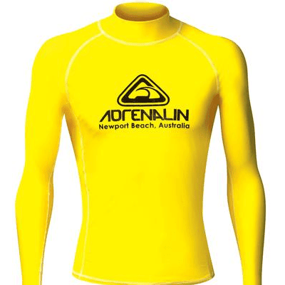 Adrenalin MULTI-ITEM 4221177    ~ RASHVEST JNR HI-VIZ YELLOW New zealand nz vaughan