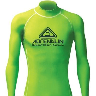 Adrenalin MULTI-ITEM 4221187    ~ RASHVEST JNR HI-VIZ LIME New zealand nz vaughan