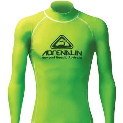 Adrenalin MULTI-ITEM 4221367    ~ RASHVEST MENS HI-VIZ LIME New zealand nz vaughan