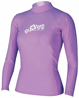 Adrenalin MULTI-ITEM 42217143   ~ RASHVEST LADY PURPLE LONG SLEEVE New zealand nz vaughan