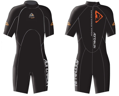 Adrenalin MULTI-ITEM 42231252   ~ AQUASPORT SPRING SUIT BLACK New zealand nz vaughan