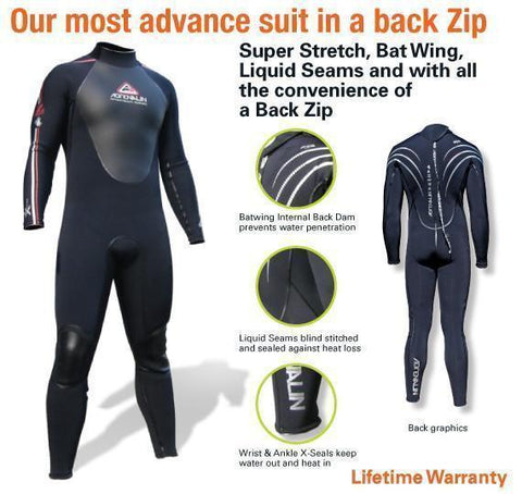 Adrenalin MULTI-ITEM 422420     ~ ADRENALIN Z SUIT STEAMER New zealand nz vaughan