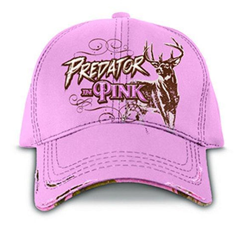 Buckwear 379697     ~ BUCKWEAR CAP  PREDATOR IN PINK New zealand nz vaughan