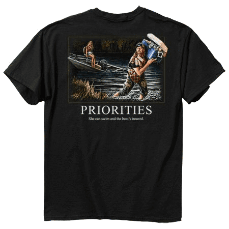Buckwear Clothing 3711163    ~ BUCK T PRIORITIES  X-LARGE New zealand nz vaughan