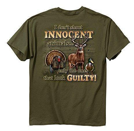 Buckwear MULTI-ITEM 3711154    ~ BUCK I DONT SHOOT INNOCENT New zealand nz vaughan