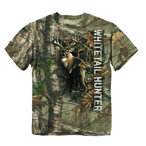 Buckwear T-Shirt 371700     ~ BUCK WHITE TAIL HUNTER New zealand nz vaughan