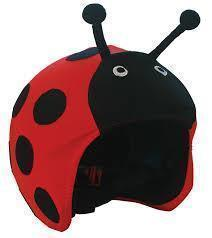 Cool Covers Helmet cover 972001     ~ COOL HELMETCOVER LADYBUG  A001 New zealand nz vaughan