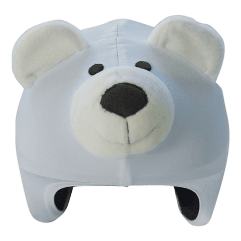 Cool Covers Helmet cover 972005     ~ COOL HELMETCOVER POLARBEAR 005 New zealand nz vaughan