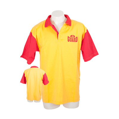Eyeline MULTI-ITEM 4509655    ~ EYELINE POLO SHIRT RED/YELOW New zealand nz vaughan