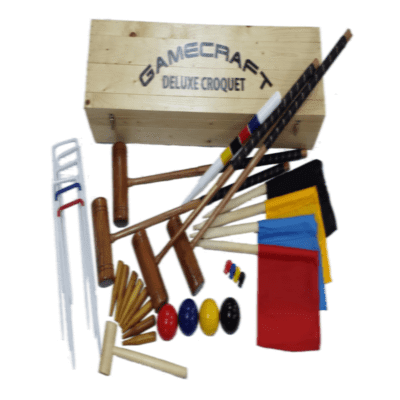 Gamecraft 856493     ~ G/CRAFT DELUXE CROQUET SET New zealand nz vaughan