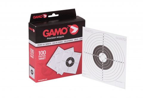 Gamo 15075      ~ GAMO AIR RIFLE TARGETS SINGLE New zealand nz vaughan