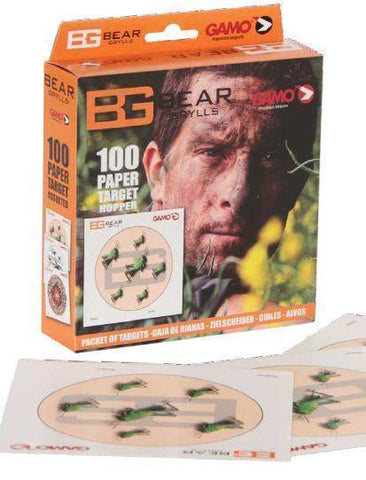 Gamo 1507732    ~ GAMO TARGETS HOPPER B/GRYLLS New zealand nz vaughan