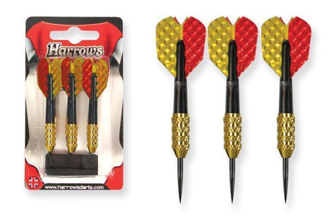 "Harrows G23228     ~ HARROWS ""FUN"" DARTS (3PK) New zealand nz vaughan"
